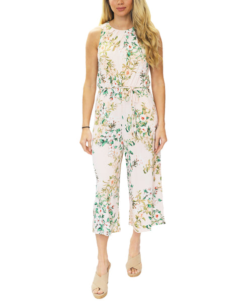 Zoom view for Floral Crop Jumpsuit