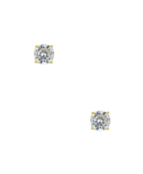 Zoom view for Round Cut Cubic Zirconia Stud Earrings (0.25 ct. t.w)