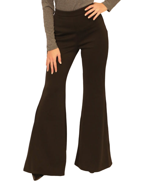 High Waist Bell Bottom Pants - Fox's