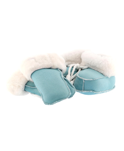 Zoom view for Shearling Baby Booties & Mitten Set