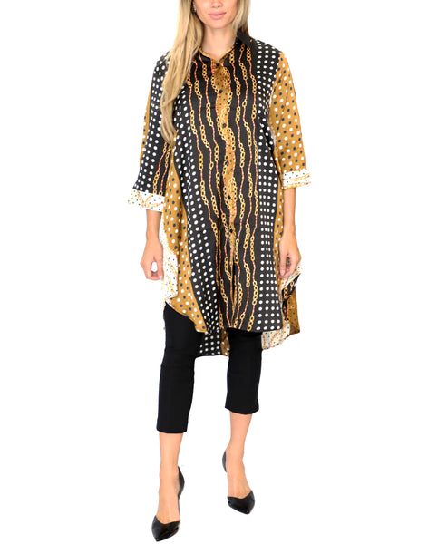 Zoom view for Chain Print Tunic - Fox's