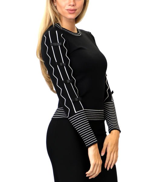 Zoom view for Sweater w/ Ruffles