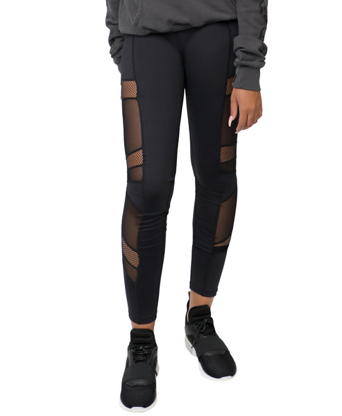 Zoom view for Multi Mesh Panel Legging