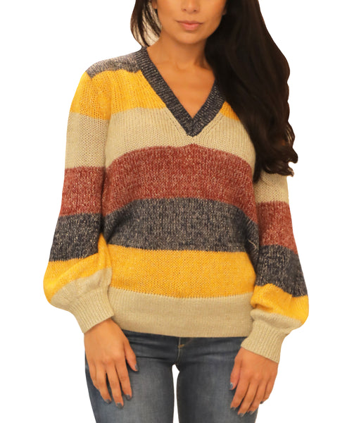 Striped Sweater - Fox's