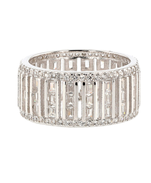 Zoom view for Cubic Zirconia Eternity Ring