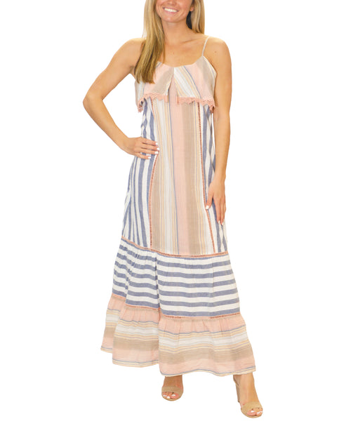 Zoom view for Stripe Maxi Dress
