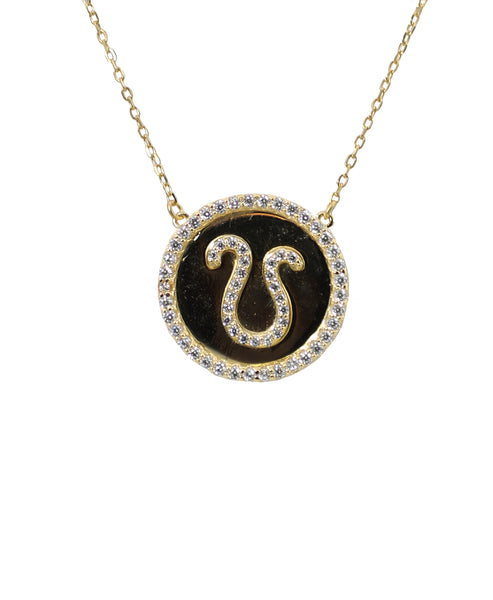 "Zoom view for ""Leo"" Zodiac Necklace - Fox's"