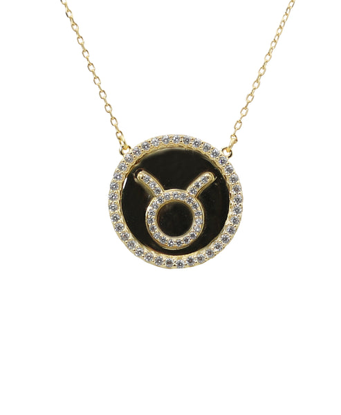 """Taurus"" Zodiac Necklace - Fox's"