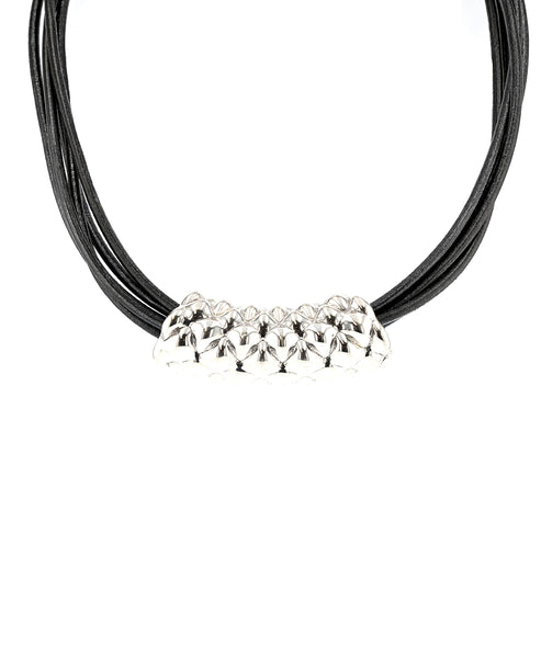 Zoom view for Multi Strand Freeform Tube Necklace