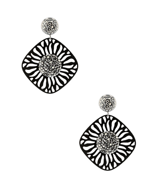Zoom view for Cut Out Drop Earrings A