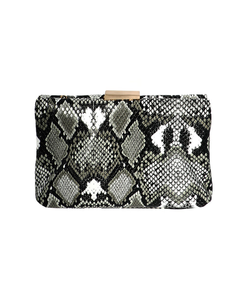 Zoom view for Snake Print Clutch