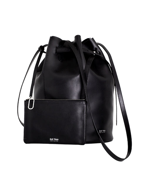 Zoom view for Leather Bucket Bag