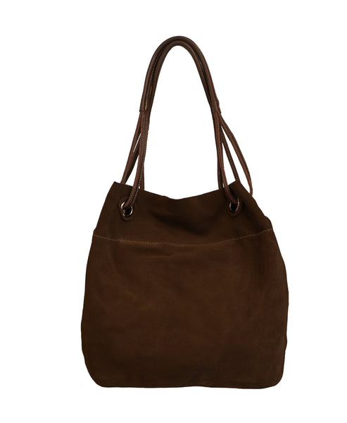 Zoom view for Suede Handbag - Fox's