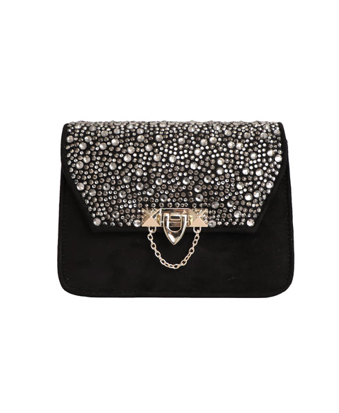 Crystal Embellished Handbag - Fox's