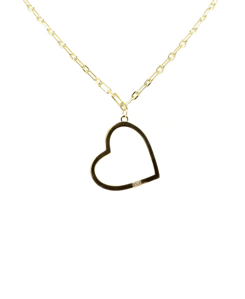 Zoom view for Heart Pendant Necklace