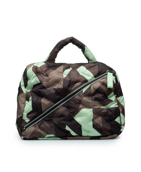 Zoom view for Camo Quilted tote- 3 pc Set A