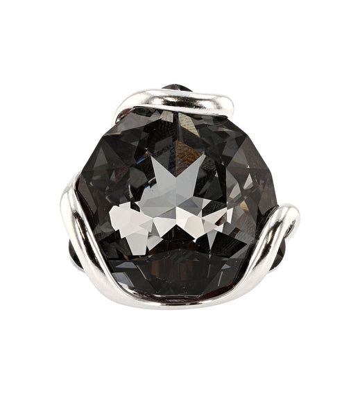 Zoom view for Swarovski Crystal Adjustable Ring