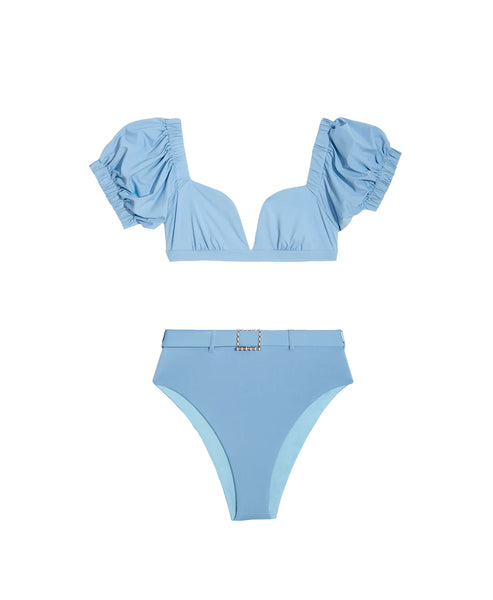 Zoom view for Puff Shoulder 2 pc Bikini