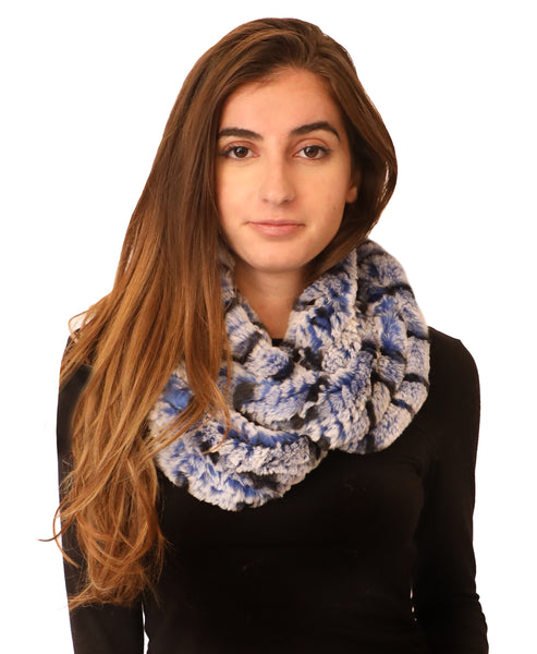 Fur Infinity Stretch Scarf - Fox's