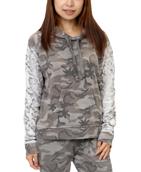 Zoom view for Camo & Snake Hoodie Sweatshirt A