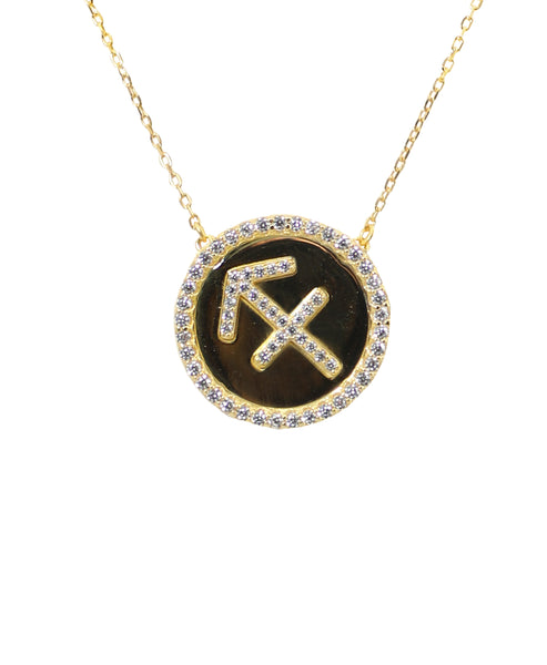 "Zoom view for ""Sagittarius"" Zodiac Necklace - Fox's"