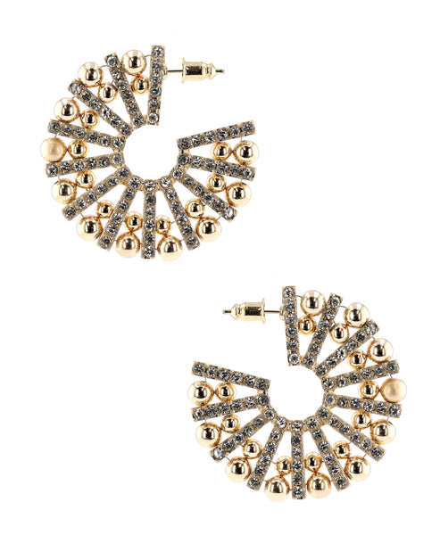 Zoom view for Crystal Earrings A