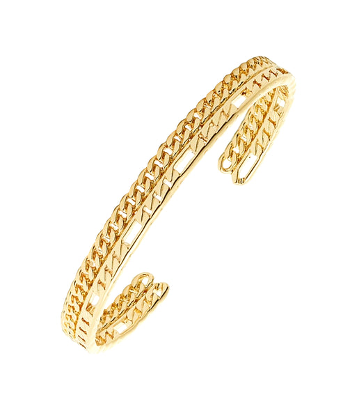 Zoom view for Chain Link Cuff Bracelet A