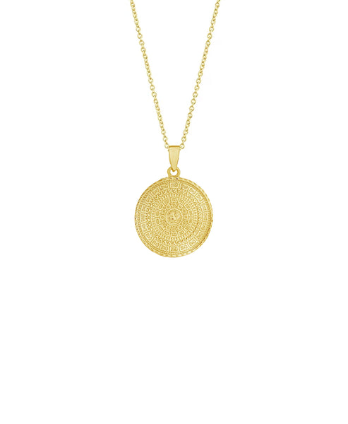 Zoom view for Medallion Pendant Necklace