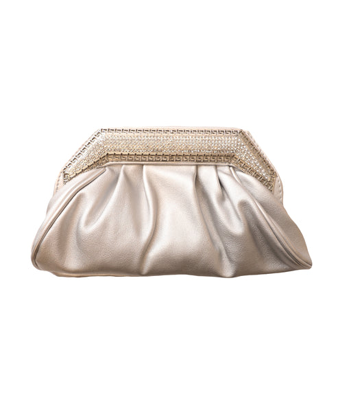 Evening Clutch Bag w/ Crystals - Fox's