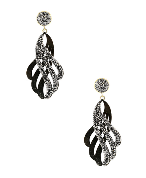 Zoom view for Overlapping Drop Earrings