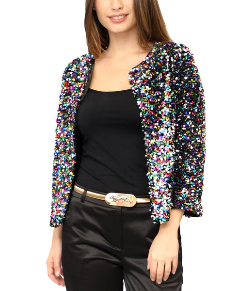 Zoom view for Sequin Jacket