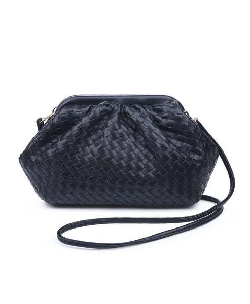 Zoom view for Woven Slouch Crossbody/Clutch