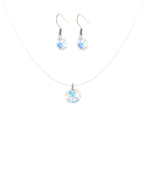 Zoom view for Swarovski Crystal Necklace & Earring Set A