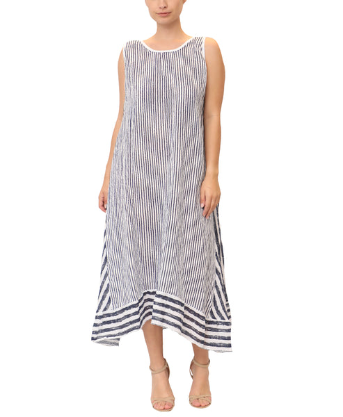 Linen Stripe Dress