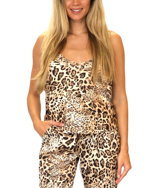 Zoom view for Leopard Print Tank