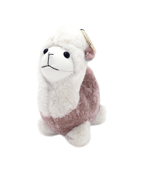 Sheepskin Lama Keychain - Fox's