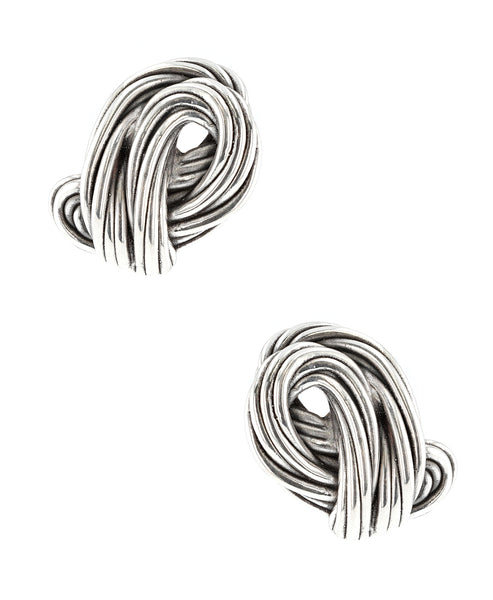 Zoom view for Twisted Wire Clip On Earrings