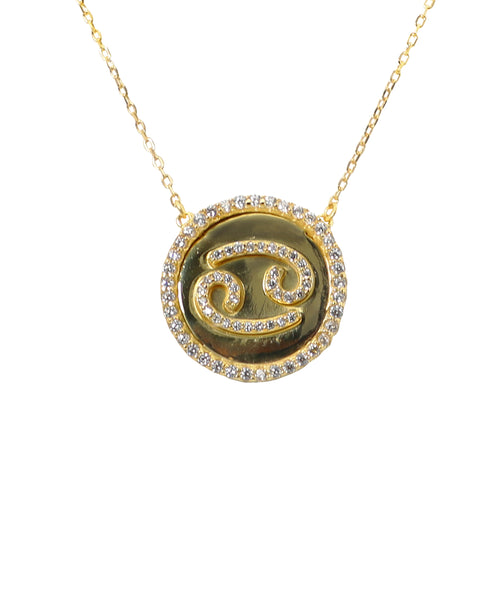 Cancer Zodiac Necklace - Fox's