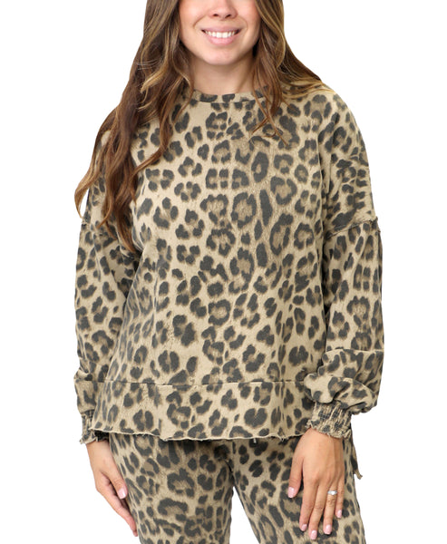 Zoom view for Leopard Sweatshirt A