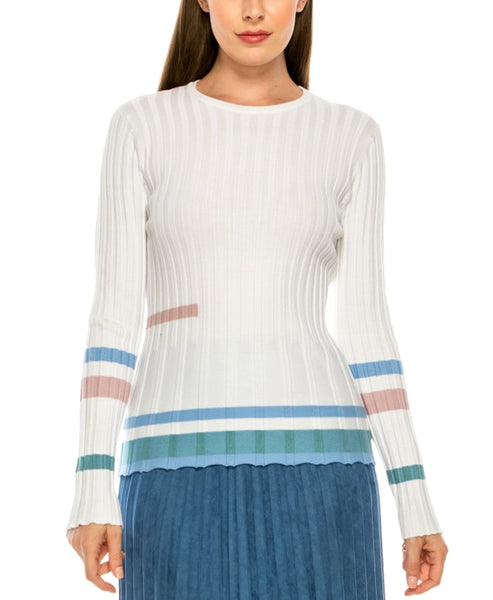 Zoom view for Ribbed Sweater