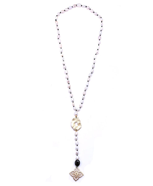 Freshwater Pearl Lariat Necklace - Fox's