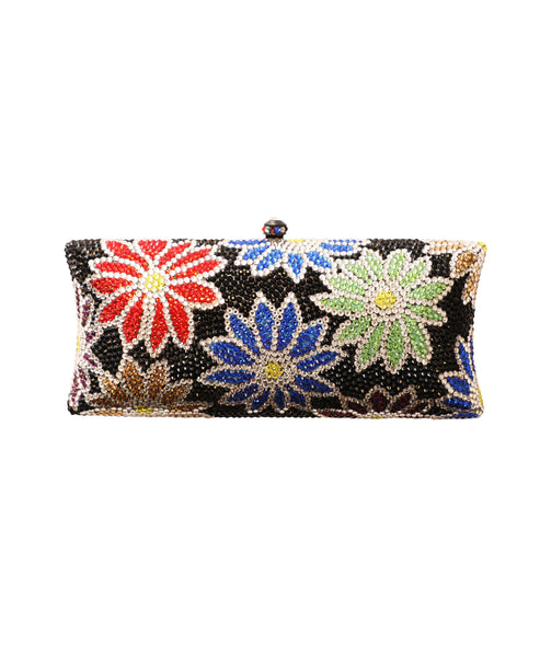 Crystal Hardcase Clutch Evening Bag