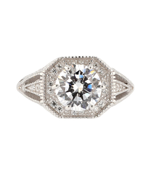 Zoom view for Cubic Zirconia Statement Ring