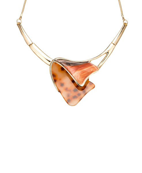Zoom view for Abstract Collar Necklace