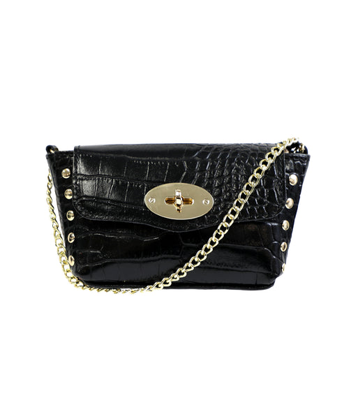 Zoom view for Small Leather Crossbody Handbag