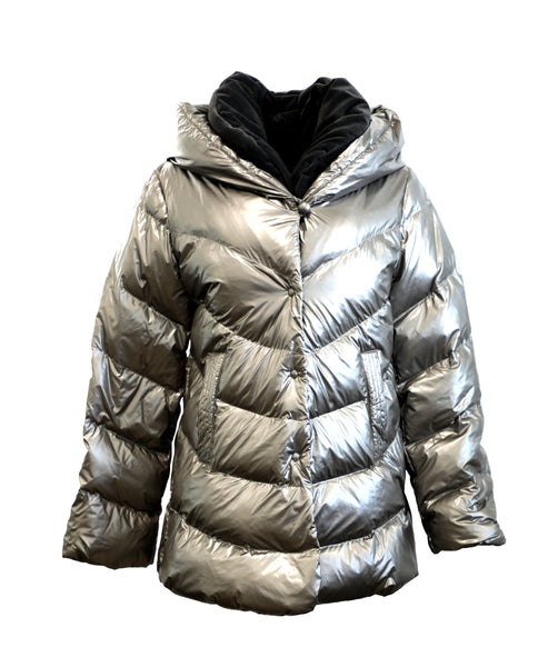 Zoom view for A-Line Down Puffer Jacket