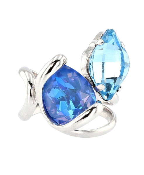 Zoom view for Swarovski Crystal Adjustable Ring A