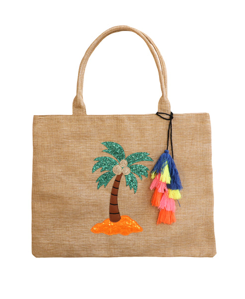 """Palm Tree"" Tote Bag"