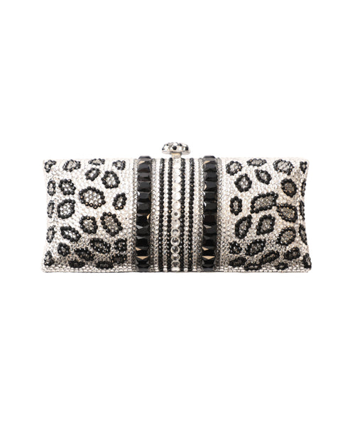 Crystal Hardcase Clutch Evening Bag - Fox's