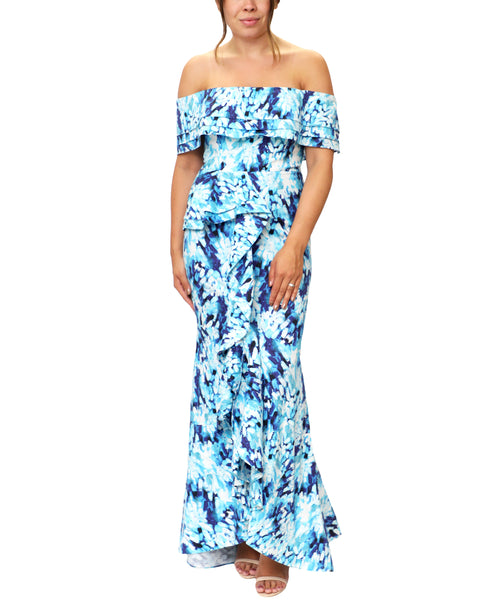 Zoom view for Floral Print Gown